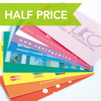 Half Price Regular Business Cards